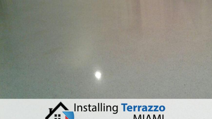 Installing Terrazzo Miami