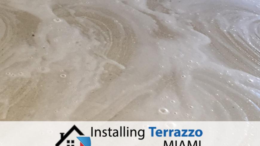 Terrazzo Polishing Service Installing Terrazzo Miami