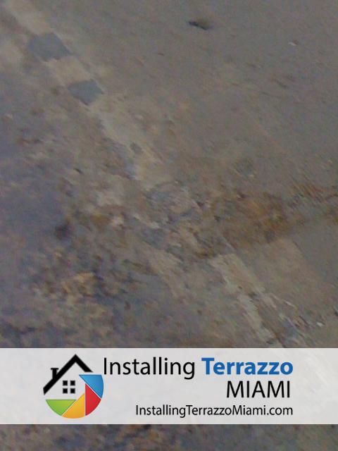 Method Of Installing Terrazzo Repair In Miami